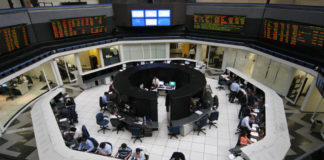Mexico stocks lower at close of trade; S&P/BMV IPC down 2.18%