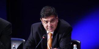 © Bloomberg. Urjit Patel, governor of the {{0